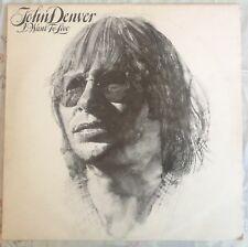 """JOHN DENVER,I WANT TO LIVE ALBUM,VINTAGE 12"""" LP 33.EXCELLENT CONDITION"""