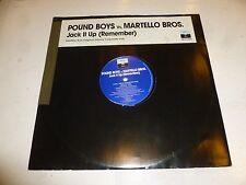 "POUND BOYS Vs MARTELLO BROS - Jack It Up - 2-track 12"" vinyl single - DJ Promo"