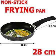 More details for frying pan non stick 28cm triple coated with heat resistant bakelite handle