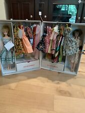 Vintage Barbie Case, Two Barbies And 18 Plus Outfits
