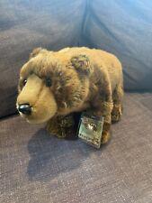 Webkinz NEW plush Signature Endangered Brown Bear WKSE3006 w/ sealed code NWT