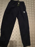 Junior Umbro Tracksuit Bottoms Length 158cm Navy