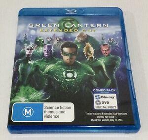 Green Lantern Blu-ray + DVD 2 Disc Set Extended Cut