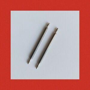 2 Federstege 8-25 Federsteg Federstifte Bandstifte Uhrenstifte für Uhrenarmband