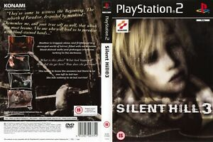 - Silent Hill 3 PS2 Replacement Game Case Box + Cover Art Only