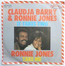 CLAUDJA BARRY & RONNIE JONES 45 It Takes 2/Take Me LOLLIPOP soul/disco NM gl122