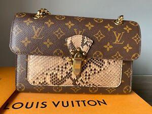 Louis Vuitton Phyton Victoire Bag, NEW, EXOTIC ,UNIQUE