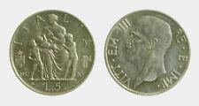 051) Regno Vittorio Emanuele III (1900-1943) 5 Lire 1937 Fecondità