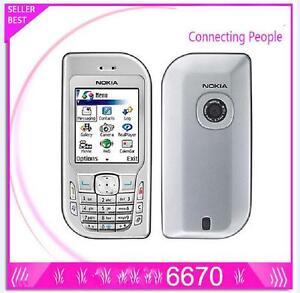 NOKIA 6670 UNLOCKED GSM Triband Camera Bluetooth Smartphone Original