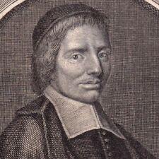 Portrait XVIIIe Nicolas Letourneux Prêtre Prieur de Villers sur Fère Jansénisme