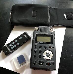 Tascam Dr100 Digital stereo recorder