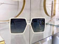 Dior 30MONTAIGNE SZJ1I Sunglasses Ivory Square Frame Gray Lens Women