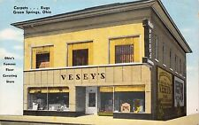 Postcard Vesey's Carpet & Rug Store in Green Springs, Ohio~111705