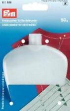 Poudre de Craie pour Mini-Maxi avec Bouteille 50g Blanc Prym 611886