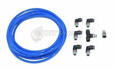 PUSH LOCK Blue Vacuum Fitting Kit for Nissan 240SX S13 S14 S15 Turbo & Wastegate
