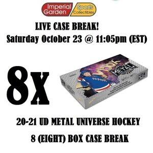 20-21 SKYBOX METAL UNIVERSE HOCKEY 8 BOX CASE BREAK #2764- Philadelphia Flyers