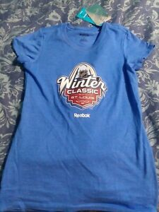St Louis Blues 2017 Winter Classic Ladies Tee Small