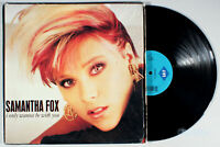 "Samantha Fox - I Only Wanna Be With You (1989) Vinyl 12"" Single •PLAY-GRADED•"