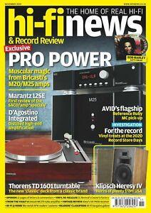Hi-Fi News & Record Review Magazine November 2020 Marantz 12SE Bricasti M20/M25