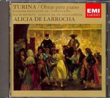 TURINA - Piano Works / Sanlucar De Barrameda / Danzas - Alicia De LARROCHA