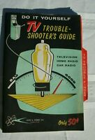 Do It Yourself TV Trouble Shooters Guide 1959 John Sperry Co TVs & Radios Repair