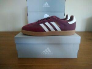 Adidas Velosamba SPD Cycling Shoes Crimson Red White Size 10 UK BNIBWT