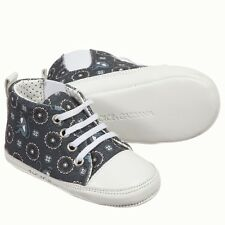 DOLCE AND GABBANA BABY BLUE Monkey Stampa Scarpe EU 19 UK 3