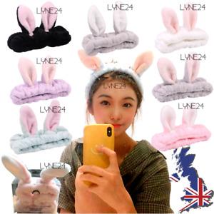 Women Soft Velvet Spa Facial Headband Make-Up Hair Band Bath Shower Elastic Band