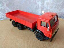Vintage metal toy soviet car СССР 1:43 model Ussr Kamaz Red