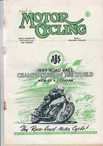Continental Road Racing,GYS Two Stroke Auxiliary Engine,Motor Cycling 1949