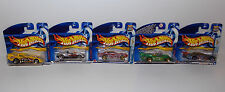 CARS : SET OF 10 CARDED CARS FROM THE HOTWHEELS SERIES BY MATTEL