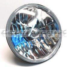 "7"" Motorcycle 6014 H6024 Headlight w/ H4 Crystal Clear Glass Lens Harley DOT"