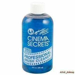 Cinema Secrets Professional Brush Cleaner 8oz Bottle BR008