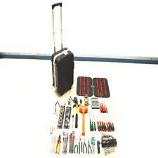 Pro's Kit 100-Piece Technician Handyman Mechanic Hand Tool Set w/ Rolling Case