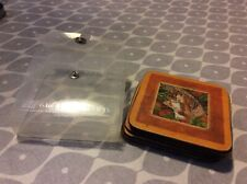 Castle Melamine Cat Coasters In case