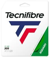TECNIFIBRE 305 SQUASH STRING - 1.20MM - ONE 10M SET - GREEN - RRP £15