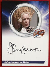 BLAKE'S 7 - JOHN LEESON as Toise - Autograph Card, Unstoppable Cards 2013