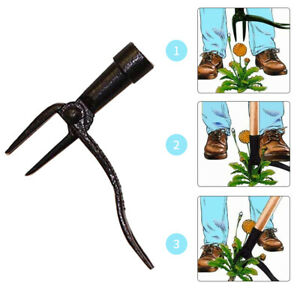 Garden Tool Outdoor Digging Root Remover Practical Portable Weed Puller Stand Up