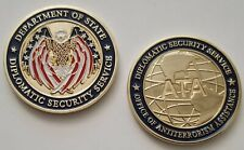 DOS DSS Diplomatic Security Service Office of ATA Antiterrorism Assistance Coin