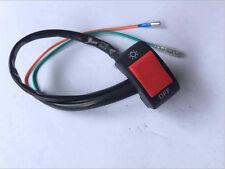 "1X7/8"" Motorcycle Switch ON OFF Handlebar Adjustable Mount Waterproof Switch Pip"
