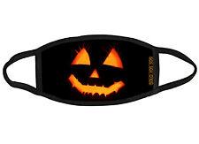 Halloween pumpkin fabric face mask OSFM Adults & Kids