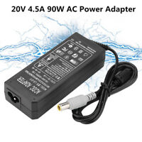 90W 20V 4.5A Laptop Power Supply AC Adapter Charger + Cord for Lenovo Notebook