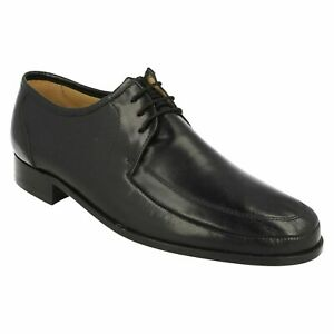 MENS THOMAS BLUNT LEATHER LACE UP SMART FORMAL OCCASION SHOES SIZE DETROIT