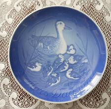 Mothers Day 1973 Copenhagen Porcelain B&G Mors Dag Blue/White Collector Plate