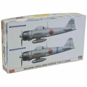 Hasegawa 1/72 Mitsubishi A6M2a Zero Fighter Type 11 Combo Kit (New)