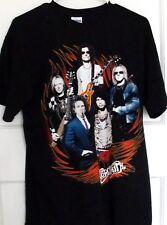 AEROSMITH 2010 World Tour T-Shirt LARGE SIZE - NEW Print on front and back