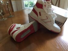 NIB Men's Vintage Brooks Dominique Basketball Shoes Size 11.5 White and Red