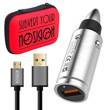Noziroh Power Car Charger USB Reload Fast Samsung S8 iPhone 8 7 Plus Charger Bag