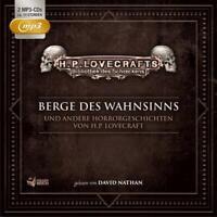 BIBLIOTHEK SCHRECKENS/H.P.LOVECRAFT-BERGE D WAHNSINNS U.A.BOX 3,  2 MP3 CD NEU