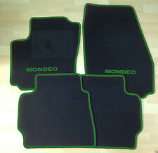 Autoteppich Fußmatten für Ford Mondeo 2000'-2006' schwarz dunkelgrün Neu 4teilig